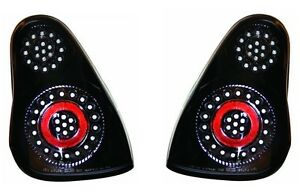 New Black Tail Lights Pair For 2000 2001 2002 2003 2004 2005 Chevy Monte Carlo