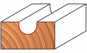 Freud 18 104 1 4 inch Diameter Round Nose Router Bit With 1 4 inch Shank