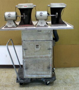 Type 75 Handler Dust Collector 3 4 Hp Multi Station W 2 Red Wing Motors Mod 30