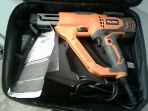 Ridgid R6791 Corded 3 In Drywall Deck Collated Screwdriver
