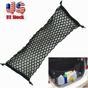 2021 New Car Envelope Style Trunk Cargo Net Universal Auto Parts Accessories