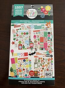 New Mambi The Happy Planner Sticker Book Seasonal Stickers 1557 Pieces