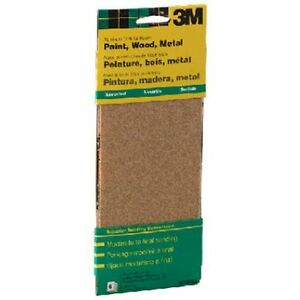 3m 9015 General Purpose Sandpaper Sheets 3 2 3 inch By 9 inch Fine Grit