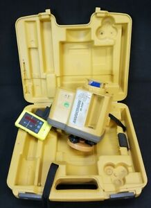 Topcon Rl 50b Rotary Laser Level With Receiver Clamp 6