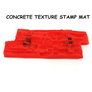 Slate Seamless Texture Polyurethan Stamp Mat Concrete Cement Stamping15 7 x7 8
