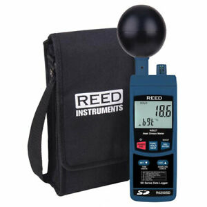 Reed Instruments R6250sd Heat Stress Meter W Sd Card Slot For Data Logging