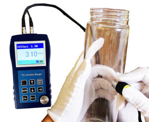 Ultrasonic Thickness Meter Tester Tools For Steel Metal Copper Aluminum Glass