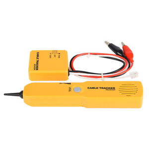 Rj11 Line Finder Cable Wire Tone Generator Probe Tracer Tracker Tester
