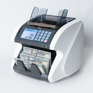 Bc 2292 Usd Mixed Bill Counter Value Counter Counterfeit Detect open Box
