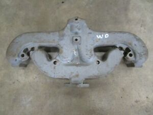 Allis Chalmers Wd Wc New Aftermarket Exhaust Manifold Antique Tractor