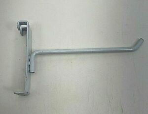 45 Pieces Of 6 Used Heavy Duty White Grid Wall Hooks Box C