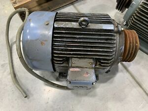 Used Abb Electric Motor 7 5 Kw 10 Hp 2920 Rpm