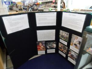 Trifold Trade Show Presentation Booth Display Board 45 X 72 Double Sided