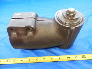 90 Right Angle Head For R8 Bridgeport Mill Cnc Milling Machine Shop Tooling