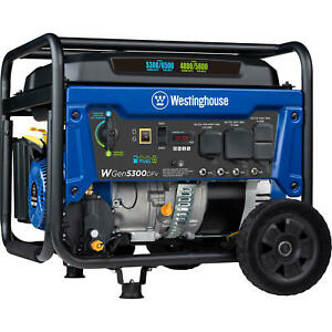 Westinghouse Portable Generator Dual Fuel Gas Propane Voltage Switch Selector