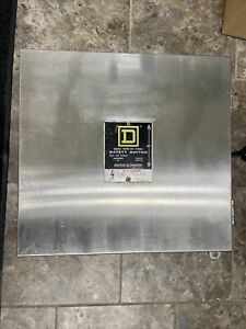 Square D 82342 E1 60a 3p 600v Double Throw Manual Transfer Switch Stainless