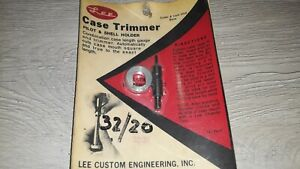 Vintage Lee Hand Priming Tool 32 20 quot;Pilot and Shell holder $11.99