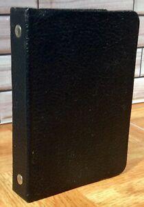 Vintage Columbia Mini Address Book Two Ring Binder Type With Alph Dividers