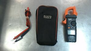 Klein Tools Cl600 600a True Rms Ac Auto ranging Digital Clamp Meter