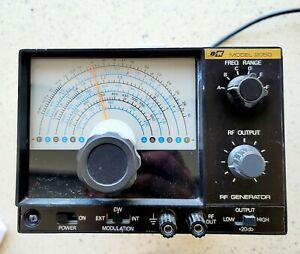 Bk Precision 2050 Rf Signal Generator Power Tested Great Condition