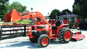 Kubota L3130 4x4 Package Deal 788 Hr 1 Owner free 1000 Mile Delivery From Ky