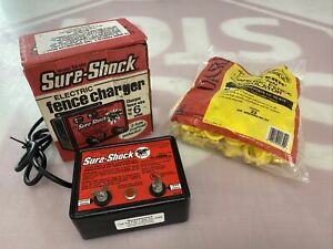Sure shock Electric Fence Charger Model Ss 550 2 Fuse Western Screw Insulator