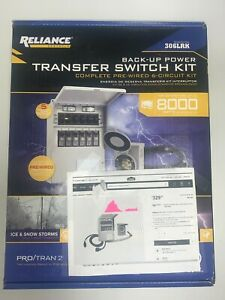 Brand New Reliance Controls 6 circuit Transfer Switch Kit 31406crk 306lrk