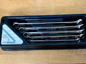Matco 5pc Long Double Box Metric Ratchet Wrench Set Tool Ratcheting Wrenches