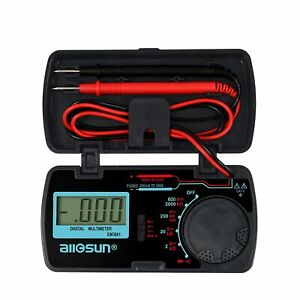 Digital Multimeter dmm multi Tester Amp ohm volt Meter diode And Continuity Size