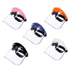 Safety Face Shield Clear Tint Guard Welding Helmet Scratch Resistant Comfort