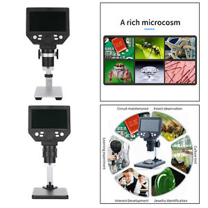 Digital Microscope 7inch Lcd Large Color Screen 12mp 1 1200x Magnifier