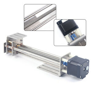 150mm Z Axis Slide 3 Axis Cnc Engraving Machine Ball Screw Linear Slide Stage Us