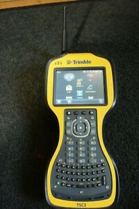 Trimble Brand Data Collector Model Tsc3 With Scs900 Ver 3 53 16301 And 2 4ghz