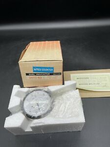 Mitutoyo Dial Indicator No 2410 60 001 25 Made In Japan W Rev Counter New