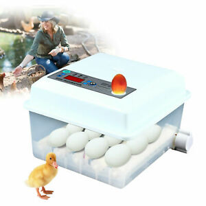 Automatic Egg Incubator Poultry Hatching Machine For 16 Chicken Eggs Usa