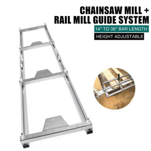 Professional 9ft 2 7m Milling Rail System Portable Chainsaw Planking Milling