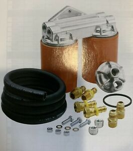 Mr Gasket 7685 Dual Oil Filter Relocation Kit Buick Cadillac Chevy Olds Pontiac