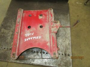 Ih Farmall 460 340 Utility Seat Support Base 369479r21 Antique Tractor