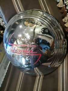 1937 38 Chevy Accessory Full Disk Hubcap