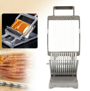 Cheese Bread Slicer Stainless Steel Kitchen Cooking Cutter Tools 1cm 2cm