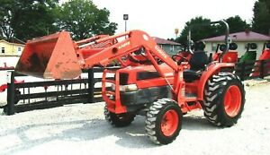 Kubota L3130 4x4 Loader 1850 Hrs free 1000 Mile Delivery From Ky