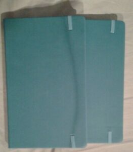 Lot Of 2 Small Journal Notebooks 5in X 8in Excellent Condition No Reserve