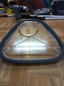 Clarke Carpet Extractor Recovery Lid 56266096 56266098 Lid Gasket Used