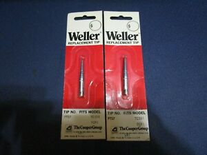 2 Nos Weller Pts7 700f Long Conical Tip For Tcp tc201 Series Soldering Irons