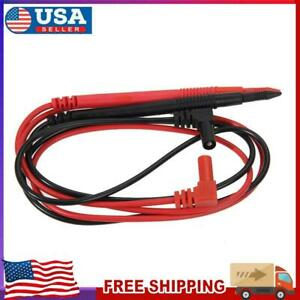 Universal Digital Multimeter Meter Wire Probe Test Leads Pen Cable Pin Cord New