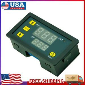 Dc 12v 20a 1500w Timing Timer Digital Display Time Delay Cycling Module 0 999h