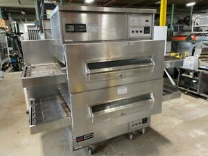 Oven Pizza Conveyor Middleby Marshall 32 Wide Belts Air Jet 90 X 48 X 83