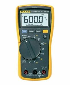 Fluke 117 Electrician s Multimeter With Non contact Voltage 600 V 6 000 Counts