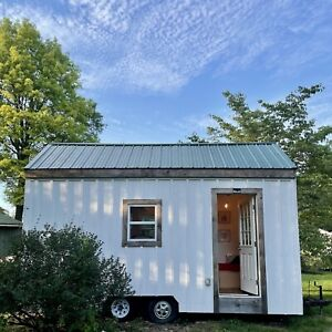 Stunning Bright Boho 18 Ft Tiny House On Wheels home Furnished Move In Ready