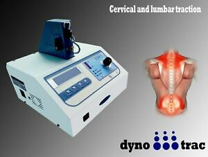 New Lumbar Cervical Traction Machine Therapy lcd Display Dynotrac Digital M c